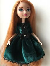 Veloure Lace Dress For Ever After High doll!
