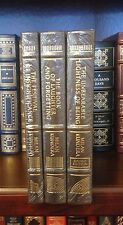 Easton Press MILAN KUNDERA - Set of three  books. Leather! SIGNED!