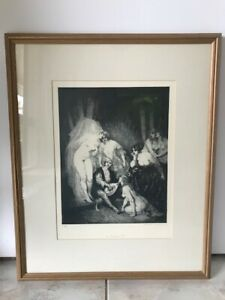 Limited Edition Norman Lindsay Facsimile Etching - The Ragged Poet No. 206 / 550