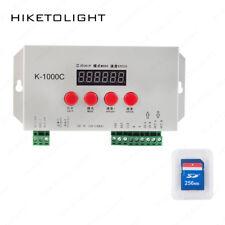 K1000C DC5-24V RGB 2048 Pixels Controller Control TM1804/LPD6803/DMX512/WS2812