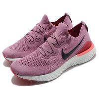 Nike Wmns Epic React Flyknit 2 II Plum Dust Black Women Running Shoes BQ8927-500
