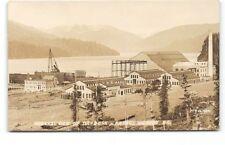 Canada-BC-Prince Rupert-Real Photo-Dry Dock-McRae Bros-Antique Photo Postcard