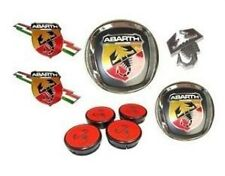 FIAT grande punto, abarth badge set (new & genuine)