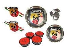 FIAT GRANDE PUNTO, ABARTH BADGE SET (New & Genuine)