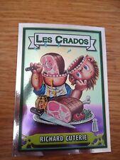 Image * Les CRADOS 3 N°180 * 2004 album card Sticker FRANCE Garbage Pail Kid