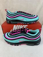Nike AIR MAX 97 Men's Shoes CU4877-300 Hyper Turquoise South Beach Pink Size 12