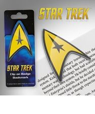 Star Trek Clip-on Metal Badge Bookmark