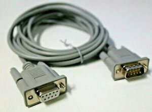 M3LS9P9S 2M Multilink Serial Interface Cable D9 Male to Female RS232 PC