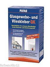 Pufas Glasgewebe und Vliestapetenkleber Kleister 1kg