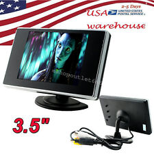 "【USA】3.5"" TFT Color LCD Car Video Rearview Monitor Camera 480(W)*RGB*272(H)"