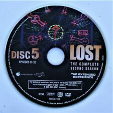 LOST (TV show) SEASON 2 DISC 5 REPLACEMENT DVD DISC ONLY