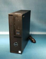 Dell Precision 3420 SFF 750GB HDD 16GB RAM Xeon E3-1270v5 3.6GHz Win10 PRO PC 54
