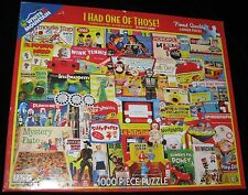I HAD ONE OF THOSE! VINTAGE TOYS 1000 PIECE WHITE MOUNTAIN JIGSAW PUZZLE N-36