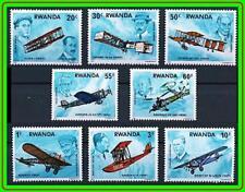 RWANDA 1978 AVIATION HISTORY / PLANES & INVENTORS MNH (LAT2)