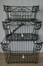 Princess House Meridian Stacking Storage Baskets Set Of 3 #728 #729 #732 NIB