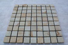 Sample Sandstone  3 cm by 3cm mosaic  tiles