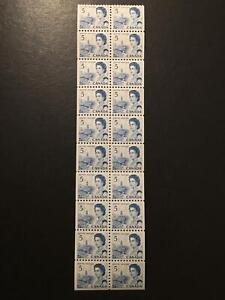 MLH SC#458c booklet pane of 20 x 5c QEII Centennial