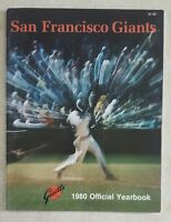 1980 SAN FRANCISCO GIANTS OFFICIAL YEARBOOK WILLIE McCOVEY JACK CLARK