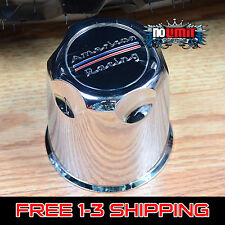"American Racing 3.27"" Plastic CHROME Center CAPS Fit 5 Lug AR Rims 1327000 (1)"