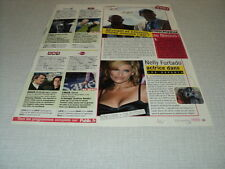 H260 NELLY FURTADO PRISON BREAK TONY CURTIS ROGER MOORE '2007 FRENCH CLIPPING
