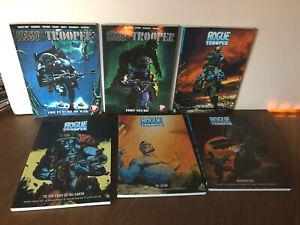 Rogue Trooper #1 2 3 4 5 6 TPB 6 Book Lot 2000AD Near Mint / Mint