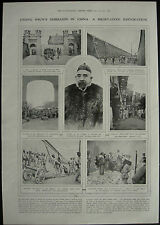 Chang Hsun Rebellion In China 1917 1 Page Photo Article