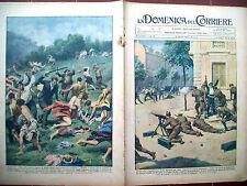 65) 1931 REPUBBLICANI IN SPAGNA E NUDISTI A MONTECASSINO DOMENICA DEL CORRIERE