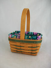 Longaberger 1993 Small Easter Basket Combo