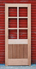 Solid Timber Hardwood Georgian door with T&G boards!!! High Quality!!!