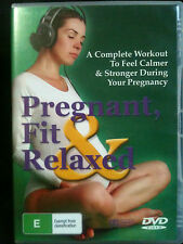PREGNANT, FIT & RELAXED ~ FEEL CALMER & STRONGER DURING PREGNANCY ~ AS NEW DVD