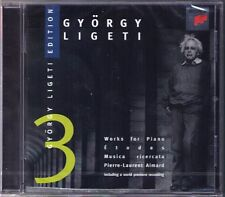 Pierre-Laurent AIMARD: Gyorgy LIGETI Etudes Musica Ricercata White on White CD