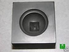 Celtic Knob Push Mold 2x2 Graphite Glass Lampwork