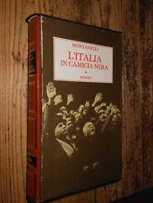 L'Italia in camicia nera  I. Montanelli  Rizzoli I ed. 1976 fo