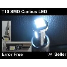 Mercedes Clase C W202 W203 Canbus Led Xenon Blanco bombillas sidelights W5w T10
