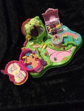 Vintage Polly Pocket 1997 Magical Movin Moving Fairyland +  Magnetic Figure