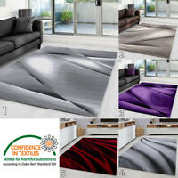 Designer Rug Abstract Pattern 3D Effect Modern Mat Room Carpet Rugs Small Large