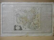 Carte de L ' ASIE par Brion en 1766