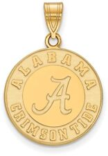 10K Yellow Gold University of Alabama Large Pendant by LogoArt (1Y046UAL)