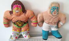 WWF Wrestling Buddies Ultimate Warrior 1991+ WCW Sting Soft Toys
