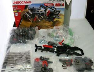 MECCANO 17204 25 IN 1 MOTORIZED OFF ROAD RACER-BUILDING SET KIT LEVEL 3