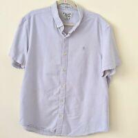 Men Original Penguin Munsingwear Size XXL Grey Shirt Heritage Slim Fit