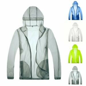 Anti-UV Pure Color Hooded Anti-sack Clothing Bicycle Coat Dry Outdoor Quick