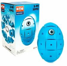 Geomag Kor Egg - Blue - 55 Piece Creative Magnet Playset