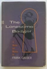 The Lonesome Badger by Frank Gruber Signed 1st