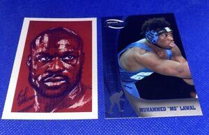 King Mo Lawal Rare Card Lot ACEO Art & Press Pass Fusion
