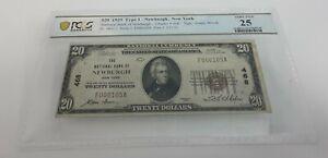 1929 Newburgh, New York Type 1 $20  VF 25