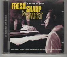 (HH246) Fresh Sharp & Sweet, A Taste of Jazz, 15 tracks various artists- 1996 CD
