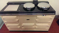 Aga Cooker - Fully Refurbished Four Oven 13 amp Aga in Cream with Chrome Lids