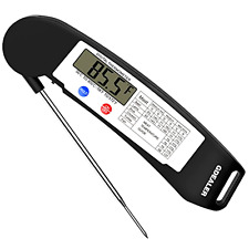 Instant Read Thermometer Super Fast Digital Electronic Food LCD Thermometer, New