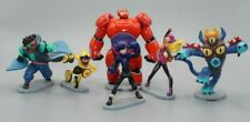 Disney Store BIG HERO 6 Play Set  Action Figure Hiro Baymax Mech GoGo Fred
